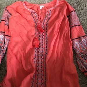 Coral Joie Top